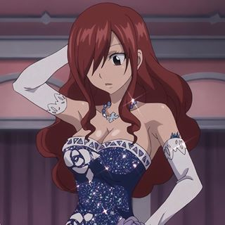 Fairy Tail Erza Scarlet, Natsu Fairy Tail, Fairy Tail Art, Fairy Tail Anime, Fairy Tales, Fairy Tail Characters, Anime Characters, Red Aesthetic, Aesthetic Anime