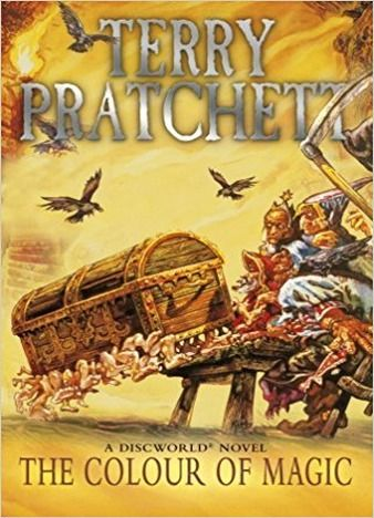 The Book The Colour Of Magic Is The First Book In The Series Discworld Novel In This Book Like The Author In 2020 The Colour Of Magic Color Magic Terry Pratchett