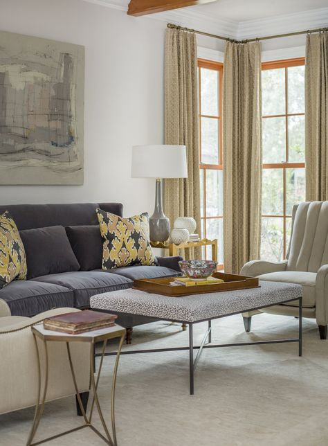 Rachel Cannon Limited Interiors Graceful Living Room With A
