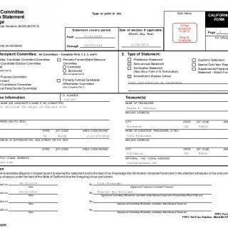 FPPC Form 460 (January/05) FPPC Toll-Free Helpline: 866/ASK-FPPC ...