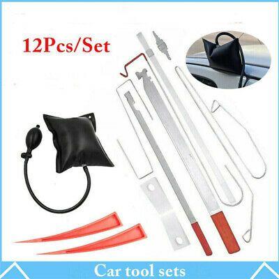 Ebay Advertisement 12pc Car Door Key Lock Out Emergency Opening Unlock Tools Kit Air Pump Wedge Car Tool Set Tool Kit Air Pump