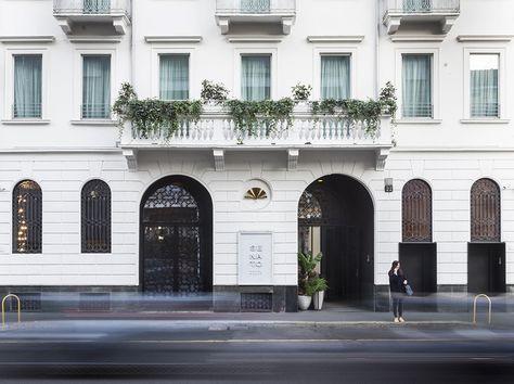 Senato Hotel Milano Hotel Design Architecture Hotel