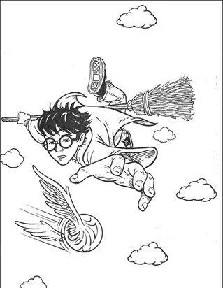 Harry Potter 9 Coloring Page Harry Potter Zeichnungen Ausmalbilder Harry Potter Kunst