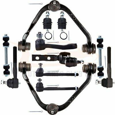 Details About Complete 12pcs Front Upper Control Arms Tie Rods Kit