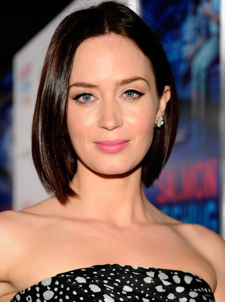 This is such a great short hairstyle for anyone with thick, straight hair who wants an easy-care, but sophisticated modern look. The center parting is totally trendy this season and suits oval face shapes the best. However, the parting can be moved to either side to balance out a differently shaped face very well, too.[Read the Rest]
