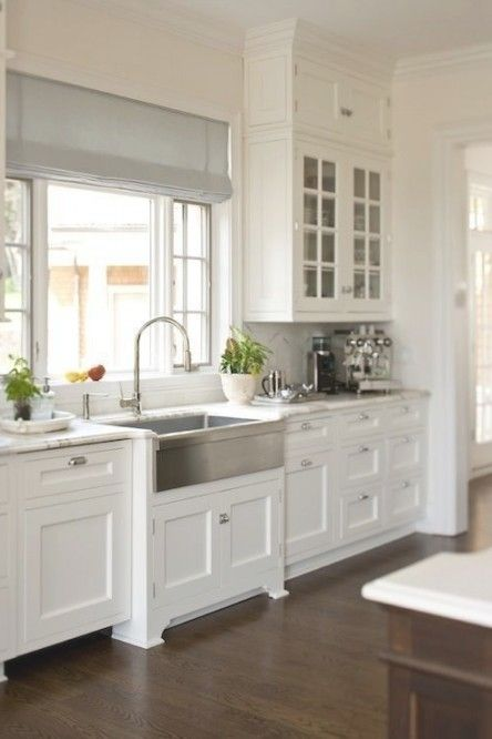 Best 25 Shaker Style Kitchens Ideas Only On Pinterest Grey For White Shaker Cabi Farmhouse Style Kitchen Cabinets Kitchen Cabinet Styles Kitchen Sink Design
