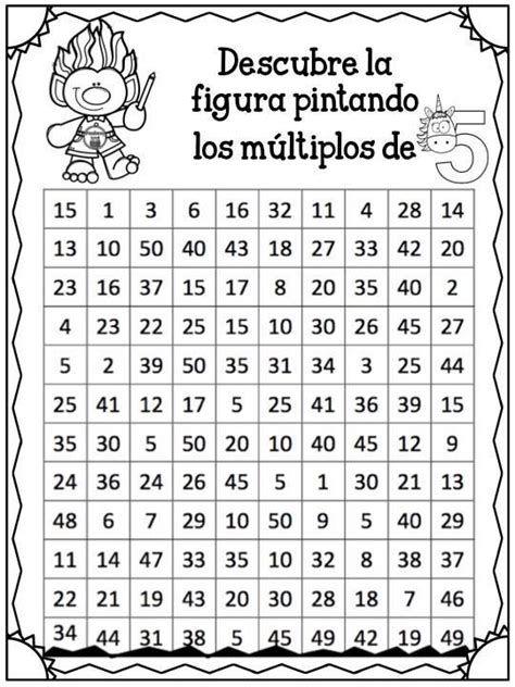 16 Ideas De Teoría De Números Teoria De Numeros Matematica Ejercicios Multiplos Y Divisores