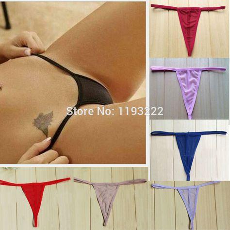fff4f89f2638 Wholesale Women Cosplay Sexy Lingerie See-thru G String T Back Brief Panties  Underwear Thongs