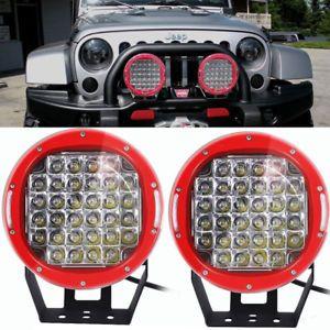 A 2x Cree 96w 9 Inch Led Headlight Driving Spot Lamp Offroad Jeep