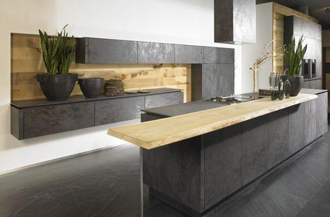 196 besten Kitchen Bilder auf Pinterest Black desk, Gärten und - italienische kuechen gamma arclinea