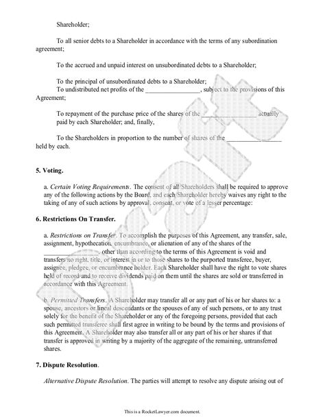 Investors Agreement - Investor Contract Agreement (Form With Sample