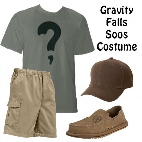 Gravity Falls Soos Costume - Everything you need for a really simple Soos outfit!