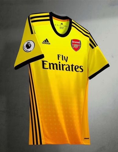 b8e29d768 2019-20 Cheap Jersey Arsenal Yellow Replica Soccer Shirt  DFC152 ...