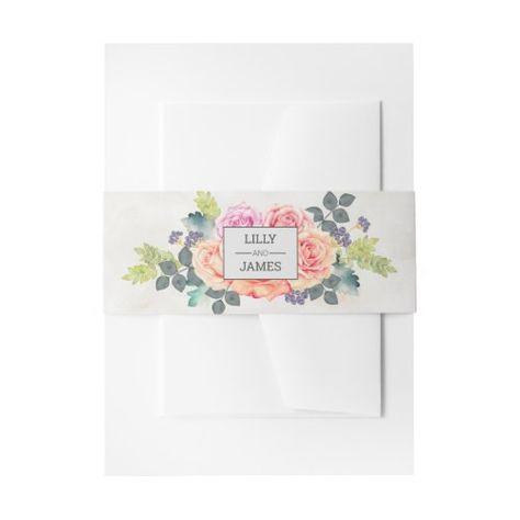 Rustic Romantic Rose   #rosewatercolor #rusticrose #rosewedding #blushpinkwedding #blushpink #monogramdesign #floralwedding #springwedding #brideandgroom #watercolorflowers