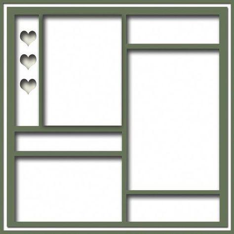 Scrapbook Frames, Scrapbook Layout Sketches, Scrapbook Templates, Scrapbook Paper, Scrapbook Journal, Disney Scrapbook, Card Sketches, Journal Cards, Journal Ideas