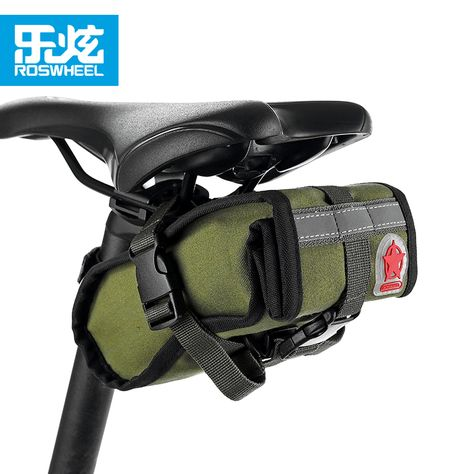 Roswheel light rainproof  Mountain Road Bike Bicycle Bikepacking Saddle Seat Bag