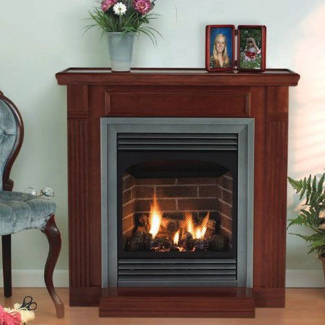 American Hearth Avfp24fp70l10n Vent Free Intermittent Pilot Fireplace With Black Frame And Louvers Remote Read Vent Free Gas Fireplace Gas Fireplace Fireplace