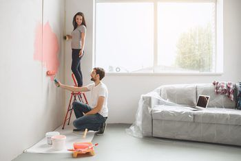 How To Prepare Walls For Paint After Removing Wallpaper Removable Wallpaper Orange Peel Walls Orange Peel Texture