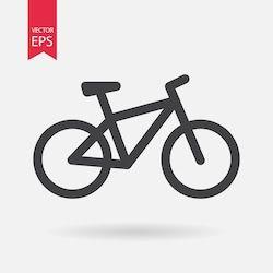 Stock Image Objects Bike Icon Bike Logos Design Bike Drawing