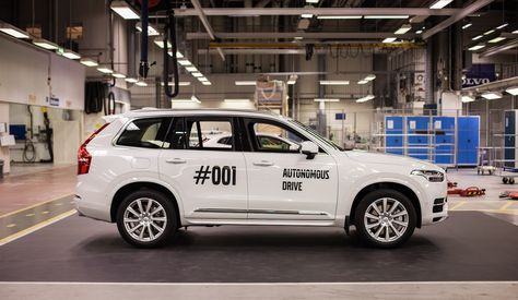 Volvo's 'Drive Me' program will tests its autonomous cars on public roads