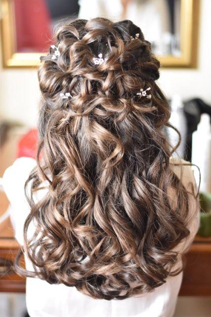 Beautiful Romantic Wedding Hair Hair Styles Hair Dos For Wedding Wedding Hairstyles For Long Hair