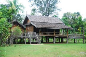 35 Bamboo House Designs With Classic Style With Natural Nuances บ านไม ซ ง ฟาร มเฮาส สม ยใหม สถาป ตยกรรมพ นถ น
