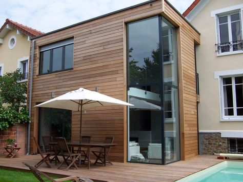 17 best Extensions images on Pinterest Extensions, Cottage and - agrandissement maison bois prix m