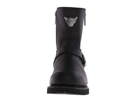 8a9e52baf930 Harley-Davidson Flagstone Men s Zip Boots Black
