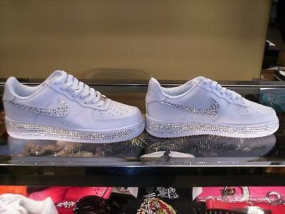 Nike Force Ones Air Blanc Mariage Pas Cher