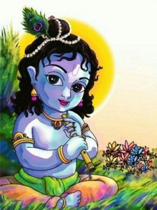 God Krishna Childhood Hd Wallpaper Krishna Radha Painting Lord Krishna Images Krishna Images