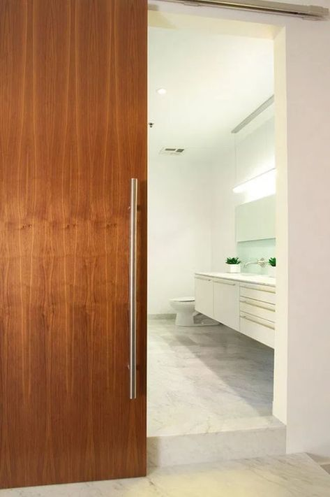 √13 Best Modern Bathroom Door Designs That Can Be Your Reference #modern #bathroom #door #interior #wood #sliding – Calnorth.com