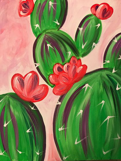 What is Your Painting Style? How do you find your own painting style? What is your painting style? Simple Canvas Paintings, Easy Canvas Art, Small Canvas Art, Mini Canvas Art, Easy Canvas Painting, Kids Canvas, Easy Paintings, Cactus Painting, Cactus Art