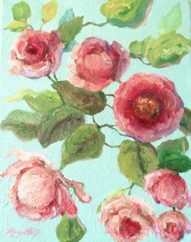 63 Ideas Flowers Painting Acrylic Canvases Originals