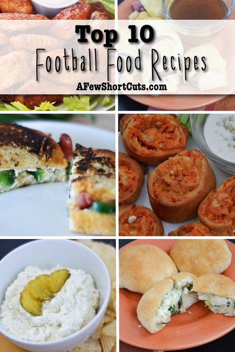 Looking for some yummy football food? Check out these Top 10 Football Food Recipes!