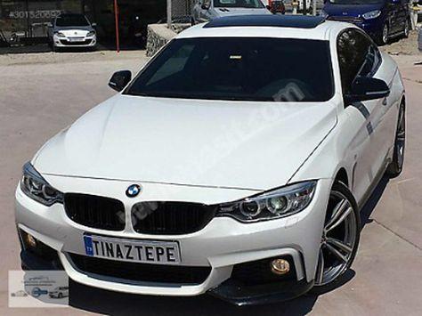 BMW 4 Serisi 420d xDrive TINAZTEPE OTOMOTİV'DEN 2015 420XDRİVE MSPORT BOYASIZ BAYİ