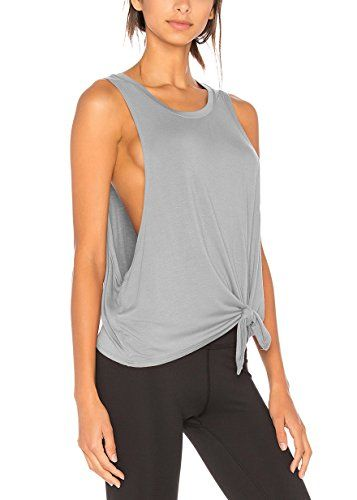 Workout Tanks for Women Womens Workout Top Muscle Tank Top Gym top Top knots and squats Athletic Tank Top Workout Tank