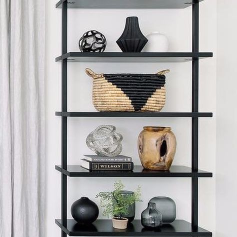 Stairway Black 96 Wall Mounted Bookcase Reviews Bookcase