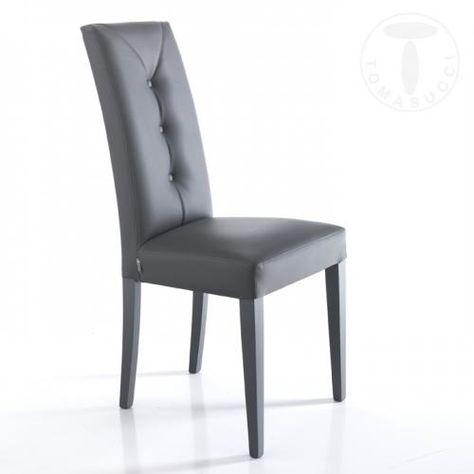 Sedia Tomasucci Kiki Evo Grey 3275 Tomasucci New Sedie 1