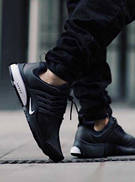 Nike Air Presto Utility 'Black White' | Skate wear, Nike