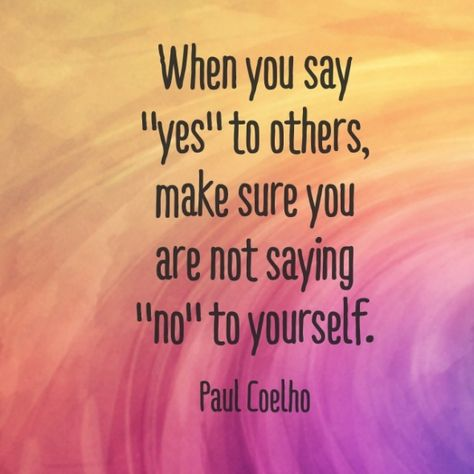 Wednesday Words of Wisdom - Just Say No