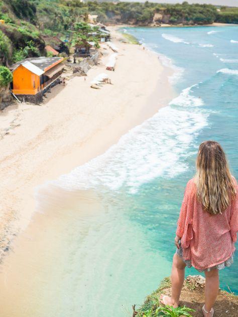 Top 5 best beaches in Bali, Indonesia - Balangan Beach