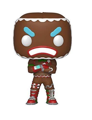 Fortnite ginger bread man. Funko pop games merry