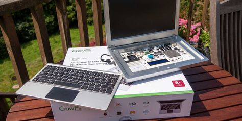 CrowPi 2 Is The Raspberry Pi Laptop and Electronics STEAM Workshop Youve Dreamed Of -- #DIYTech #DIYTechnology #TechProject #Tech #DIYTechProject