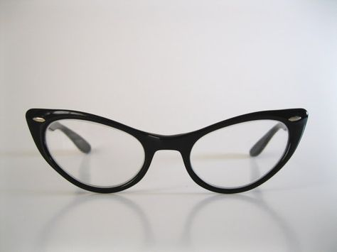 Oh yes!  1950's Cat Eye Glasses by B & L$65