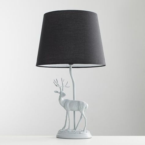 Alpen Home Chilmark 48cm Table Lamp | Grey table lamps