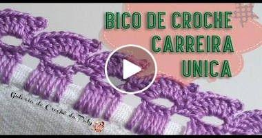 Pin De Cerita Mesquita Em Pasta Bicos Toalha Bico De Croche