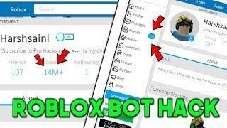 ROBLOX BOTS HACK : FOLLOWERS, FRIEND REQUESTS, BUY ASSETS