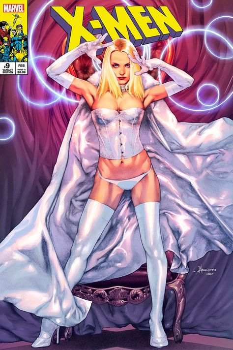 X-MEN #9 UNKNOWN COMICS JAY ANACLETO EXCLUSIVE VAR DX (03/25/2020) - REGULAR BAG