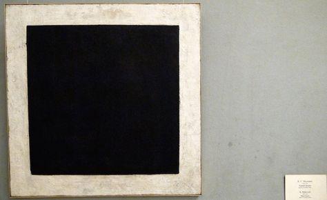 """Kazimir Malevich, """"Quadrato nero"""", 1915, olio su tela, Museo di Stato Russo di…"""