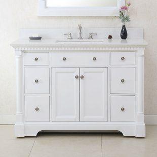 54 Inch Vanity Wayfair Bathroom Vanity Vanity